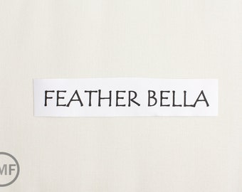 One Yard Feather Bella Cotton Solid Fabric from Moda, 9900 127