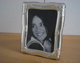 Handmade Sterling Silver Photo Picture Frame 1032 13x18 GB new