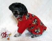 4 Leg Red Dog Sweater with Lions