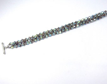 Swarovski Beadwoven Crystal Bracelet