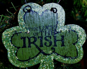 Luck of the IRISH Ornament