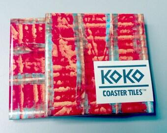 Koko Coaster Tile Twins No. 55