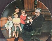 "Vintage Norman Rockwell ""The Family Doctor"""