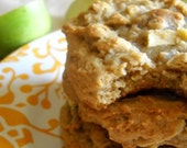Apple Pecan Oatmeal Cookies
