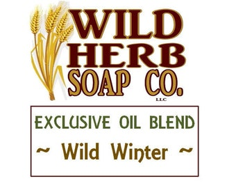 WILD WINTER: Exclusive Scent (Organic Blend of Spearmint, Wintergreen Essential Oils) by Wild Herb Soap