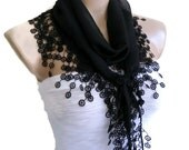 Traditional Turkish-style, Necklace scarves,Headband, scarf, gift,Black, fashion, 2012, Special Fashion