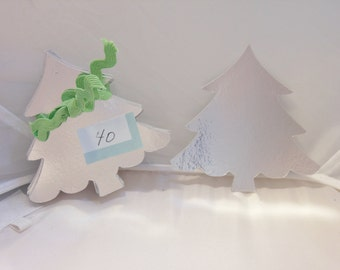 15, 3 x 3 inch, Tags, Christmas tags, Holiday tags, Shiny Silver Christmas Holiday Tree Tags, Christmas tree tags, tags, enclousers.
