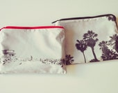 two zipper pouches of your choice - save 15% / Small Couture
