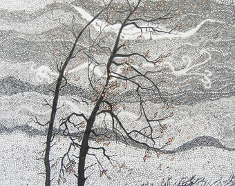 Tree Print Large Giclee Print
