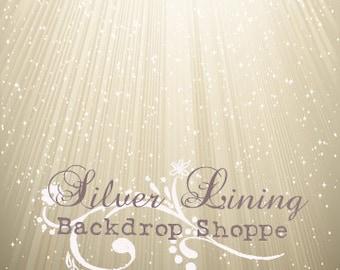 6ft x 8ft BACKDROP / Ray Of Hope / Vinyl Photography Backdrop / Prom / Photobooth / Senior / Newborns