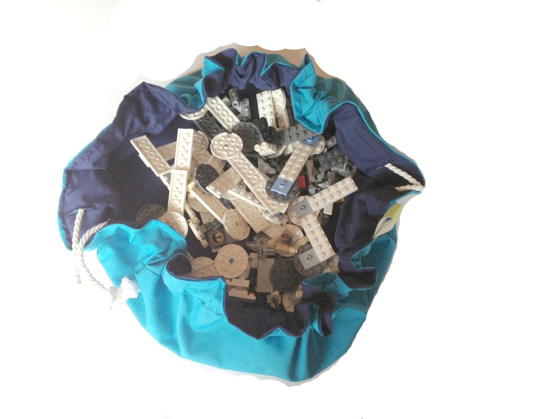 lego bag lego storage toy storage bag toy bag mat gift. Black Bedroom Furniture Sets. Home Design Ideas