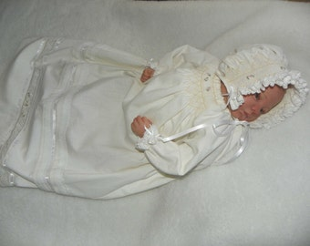 CLEARENCE - Heirloom Inspired Baptism -  Christening Set