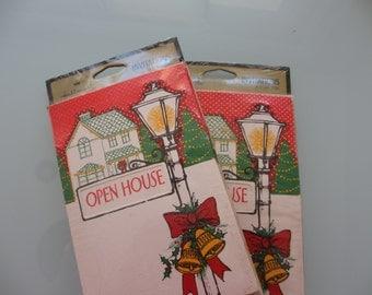 Vintage Open House Invitation