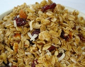 16 oz Cranberry Nut Granola Healthy Homemade Food Baked Goods