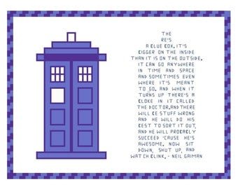 Doctor Who Quote - Neil Gaiman