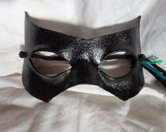 Leather Mask Superhero Supervillian Bandit Domino