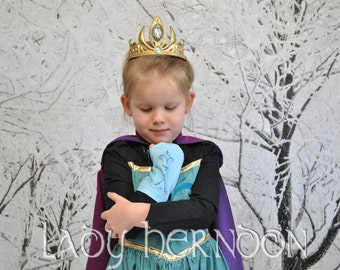 My Accessories: Elsa's Coronation Glovelets in Size 2T, 3T, 4T, 5, 6, 7, 8 or 10
