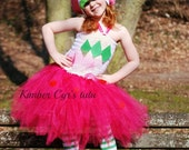 Strawberry Shortcake Tutu Dress---Any size is available