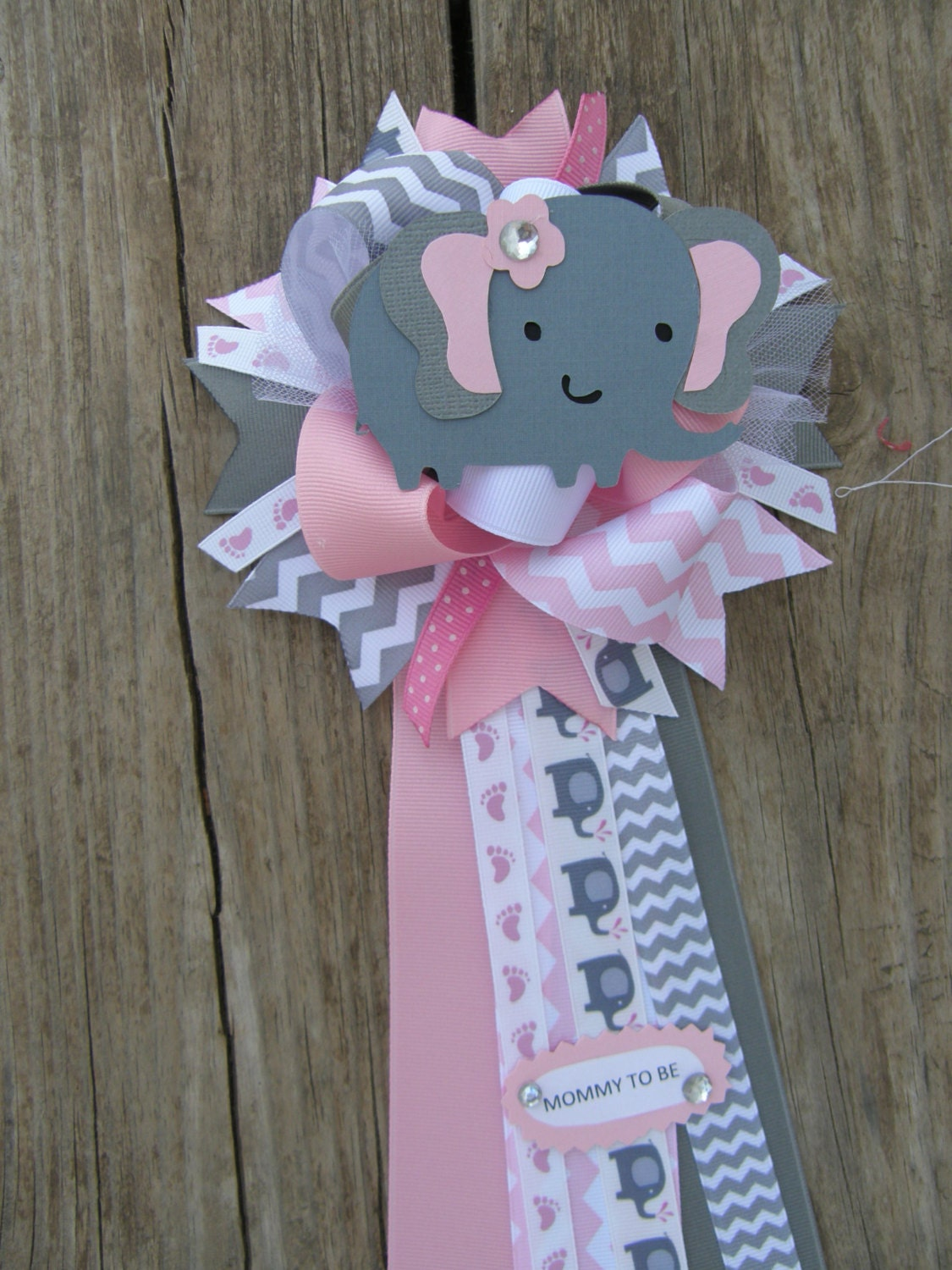 baby shower theme baby shower mum corsage by bonbow on etsy