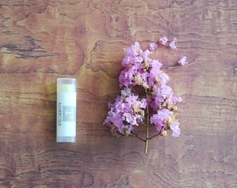 Ambrosia Lip Balm, Jojoba Oil, Coconut Oil, Beeswax, Signature Fruity Lip Balm