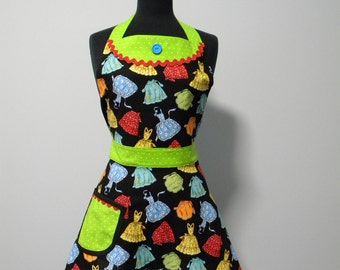 SALE-Womens Apron-The Apron Collage Full Womens Apron-30% OFF
