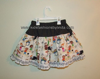 Music Lover Twirl Skirt