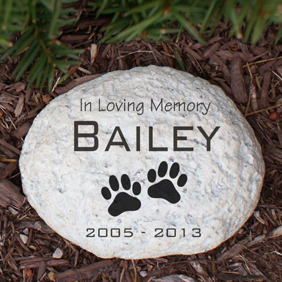engraved pet memorial garden stone pet memorial garden