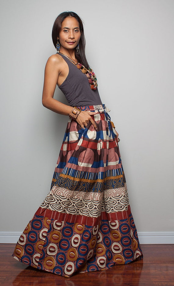 Floor Length Skirt Boho Maxi Skirt  Feel Good Collection II