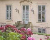 Romantic landscape, Palace gardens, Prague photograph, architecture, garden, 10x8, titled: Palace gardens III