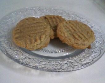Gluten Free Peanut Butter Cookies - Unbelievables (12 cookies)