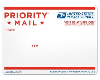 Upgrade to USPS Priority Shipping