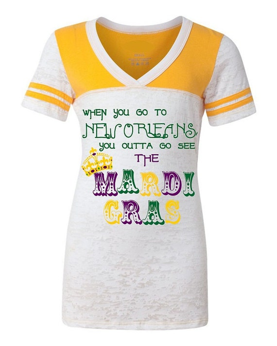 Items Similar To New Orleans Mardi Gras Shirt Junior Fit