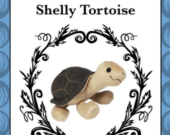 Plush Tortoise Toy Pattern