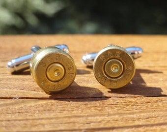 Brass 9mm Cufflinks