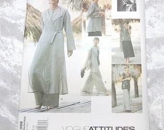 New Vintage ADRI Vogue Pattern 1398 -  Unused -  Sizes 8-10-12 - 1994