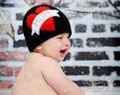 I heart mom tattoo hat- made to order newborn- adult FREE US SHIPPING