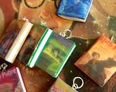 Wizard Book Pendants