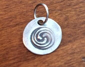 PMC Celtic Trinity Spiral Pendant