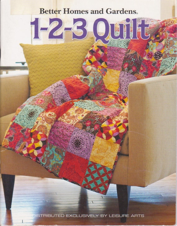1 2 3 Quilt Book From Better Homes And Gardens