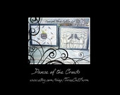 Dance  of the Crows Pumpkin and witches boots cross stitch patterns