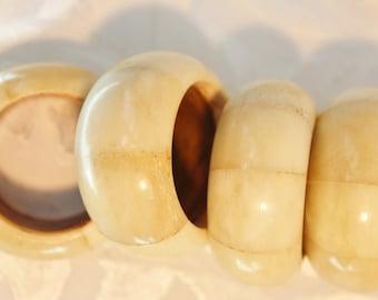 Alabaster Napkin Rings Set Of 10
