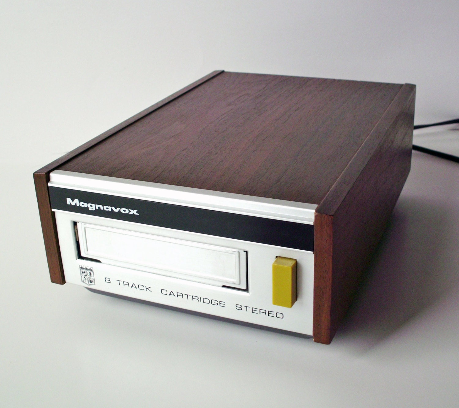 Inside Of A 8 Track Tape: Vintage Magnavox 8-Track Tape Player Stereo Component