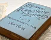 1912 Scott Standard Postage Stamp Catalogue - Rare Antique Book