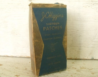 Shotgun Patches Sears Roebuck and Co. Canton Flannel JC Higgins