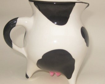 Cow Creamer on Three Legs (In Stock)