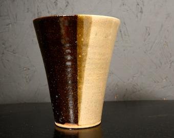 Mid Century Modern Vintage Pottery Vase Fantoni Era