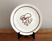 Merrie Mushrooms Dinner Plate