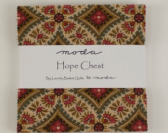 Hope Chest Prints Fabric Collection by Laundry Basket Quilts for Moda Fabrics - 1 Charm Pack