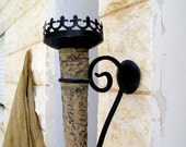 Vintage Ancient Vikings Wall Torch, Middle ages Trading, Garden Candle holder, Outdoor Wedding Decor, Silk road, Tribal, Garden lighting - MeshuMaSH