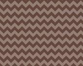 Brown Tone-On-Tone SMALL Chevron From Riley Blake